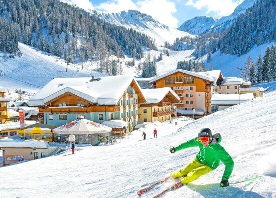 Skifahren mit dem Weltmeister Michael Walchhofer zuhause im Salzburger Land