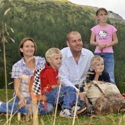 Skirennläufer Michael Walchhofer mit Familie