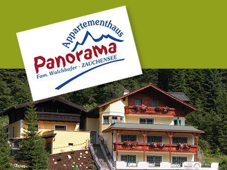 Zauchensee Ferienwohnung Aparthaus Panorama