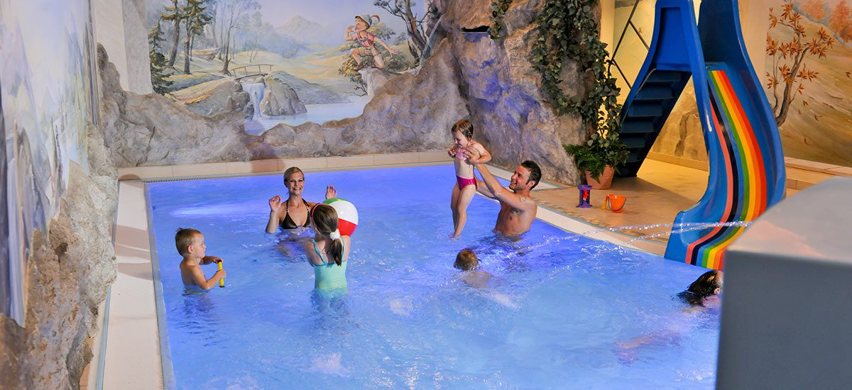 Kinderbecken - Hotel Zauchenseehof