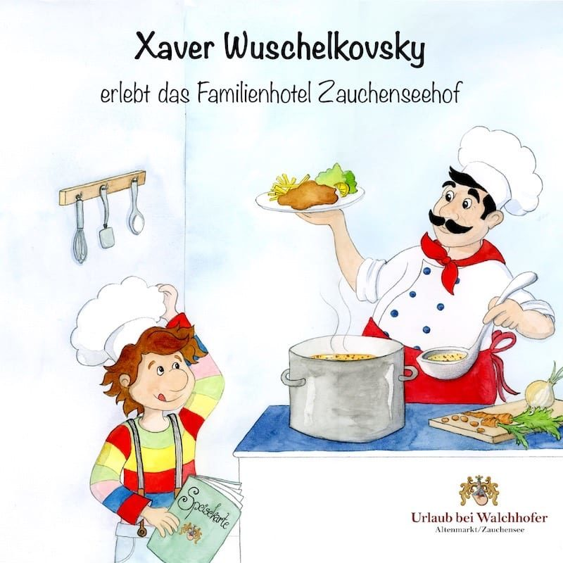 Xaver Wuschelkovsky erlebt das Familienhotel Zauchenseehof