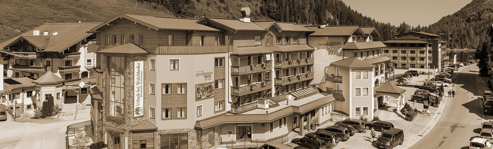 Chronik & Geschichte - Urlaub bei Walchhofer in Zauchensee