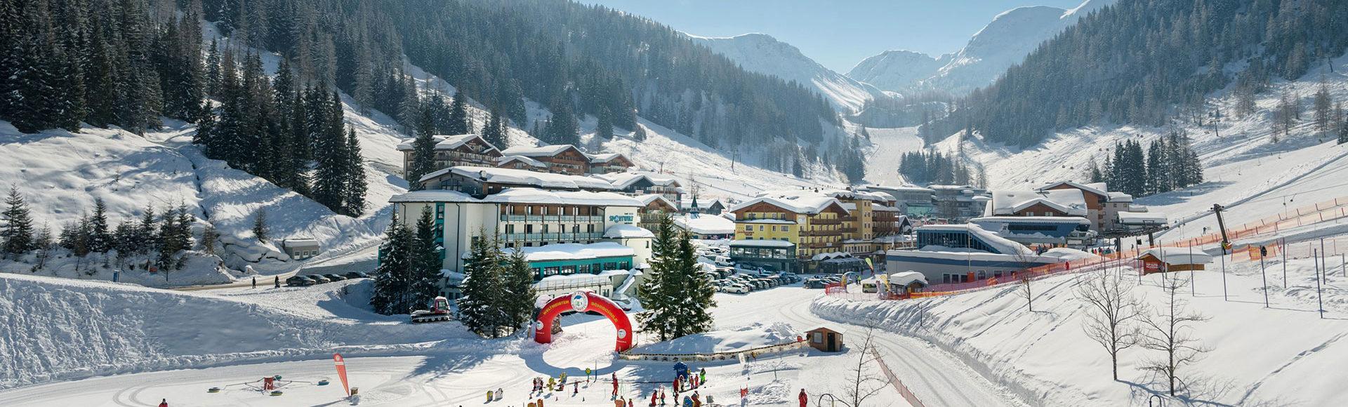 Toplage im Winterurlaub & Skiurlaub in Zauchensee